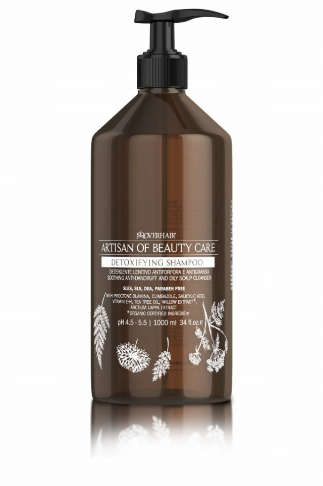 Detoxifying anti-greasy Shampoo Image